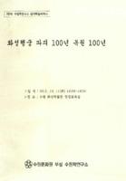 제8회 수원학연구소 정기학술세미나 ; 화성행궁 파괴 100년 복원 100년