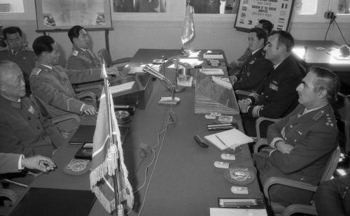 판문점 군사정전회의  #452