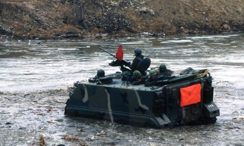 국산병기 화력시범  #307