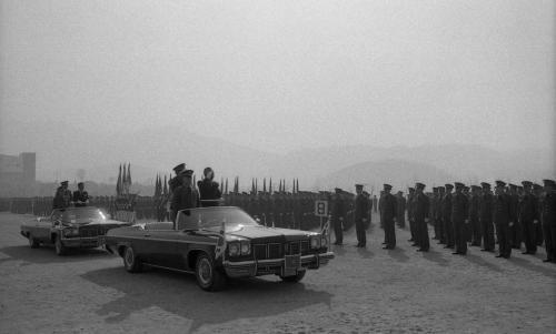 신현확 국무총리 학군단(ROTC) 임관식 참석  #935
