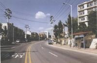 1995년 광명여고 옆 도로