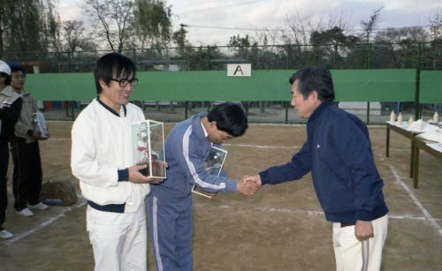 문화공보부 직원 테니스대회 시상식  #9204