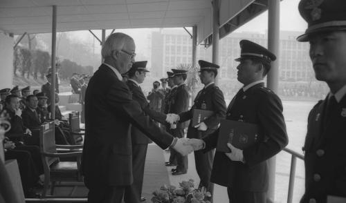 남덕우 국무총리 경찰대학 졸업식 참석  #11636