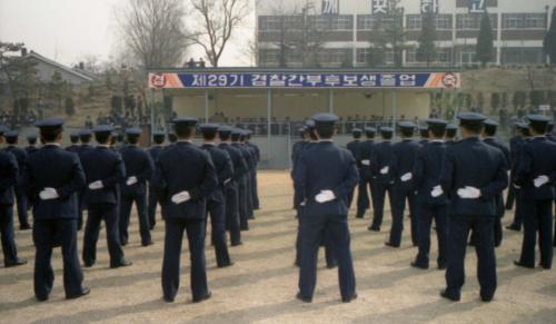 남덕우 국무총리 경찰대학 졸업식 참석  #12014