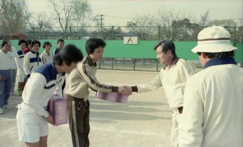 문화공보부직원 테니스대회  #12733