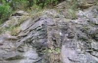 가평읍 두밀리 일대의 노두