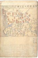 백제강역북변지도 『동여비고』
