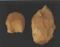 동파리 구석기유적 수습 석기류