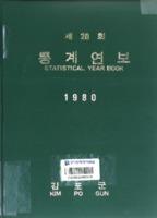 김포군 통계연보 1980년 제20회