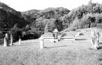 안황 묘소 전경
