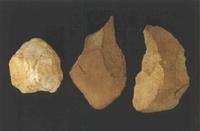 장산리 구석기유적 수습 석기류