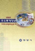 안양시 주요통계정보 2003년