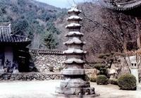 묘적사 팔각칠층석탑