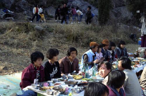 문화공보부 공보국직원 야유회(소요산)  #55777