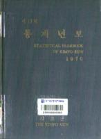 김포군 통계연보 1970년 제10회