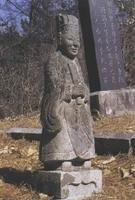 김상성 묘지 문인석