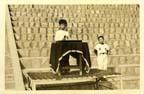 1973년 수원 남창국민학교 73학년도 6학기 정부회장 선거결과 단선 소감을 발표