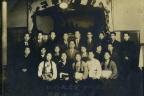 인천 송월교회 당시 아내(맨 앞줄 왼쪽 첫 번째)
