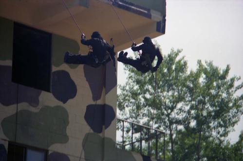 경찰특공대 테러 모의훈련  #91805