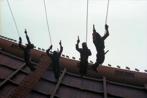 경찰특공대 테러 모의훈련  #91807