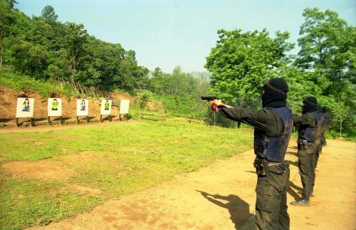 경찰특공대 테러 모의훈련  #91811