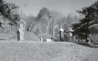 송복산 묘소 전경
