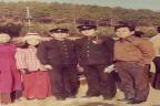 아들 창석의 삼일중학교 졸업식날 가족과 함께