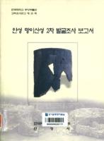 안성 망이산성 2차 발굴조사 보고서