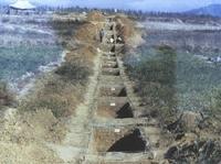 선사유적지 발굴현장