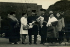 아들의 대학 졸업식날