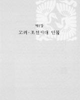 파주의 고려.조선시대 인물