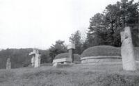 안우삼 묘소 전경