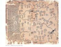 조선시대 전기 경기도지도 『 동람도』