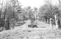 여이징 묘소 전경