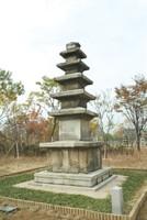 안흥사지오층석탑
