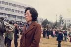 큰아들 고등학교 졸업식 때의 아내